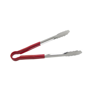 SEP-12RD - Scalloped Edge Tong (12, red)