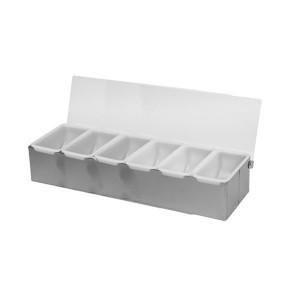SLCN006-Compartment Condiment Dispenser