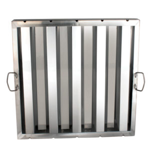 SLHF2020- HOOD FILTER 20 X 20, STAINLESS STEEL