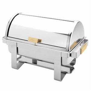 SLRCF0171G-ROLL TOP GOLDEN HANDLE CHAFER