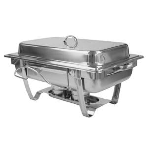 SLRCF0833BT- 8 QUART STAINLESS STEEL CHAFER, STACKABLE