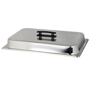 SLRCF115-DOME COVER WITH CHROME PLATED HANDLE