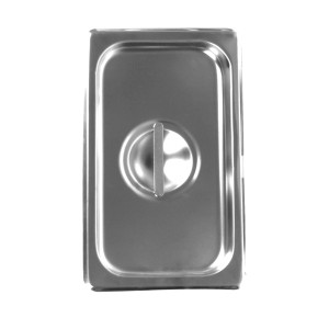 STPA7130C-THIRD SIZE SOLID COVER FOR STEAM PANS