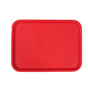 TFF-1418RD - Fast Food Trays-Red